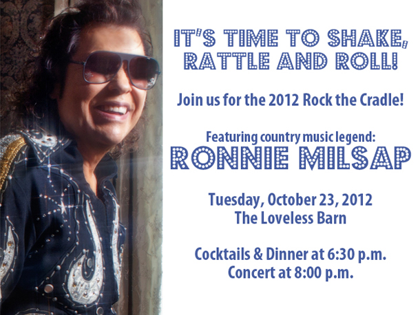It's time to shake, rattle, and roll with Ronnie Milsap - October 23